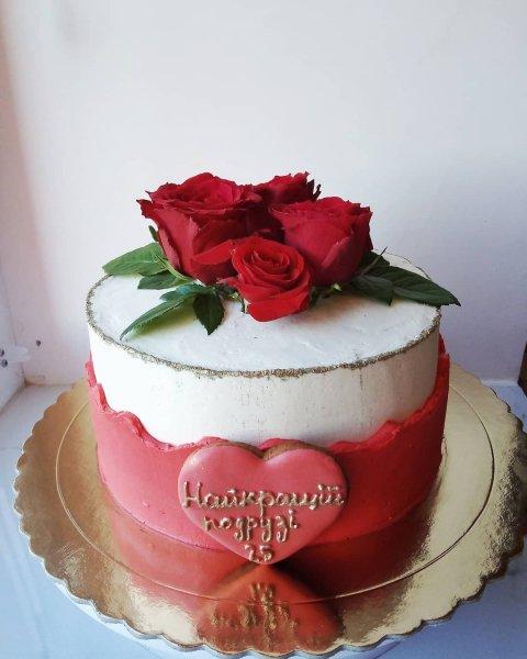 """Торт """"Неаполетанская роза"""""""
